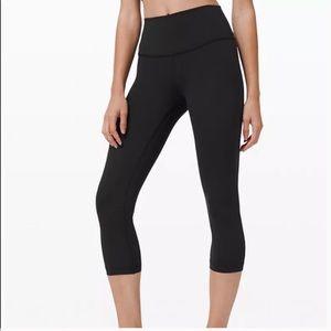 Lululemon leggings WU crop Black